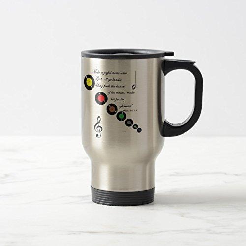 Zazzle Make a Joyful Noise Mug Stainless Steel TravelCommuter Mug 15 oz
