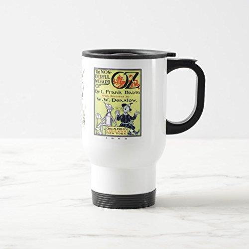 Zazzle Wizard Of Oz Mug White TravelCommuter Mug 15 oz