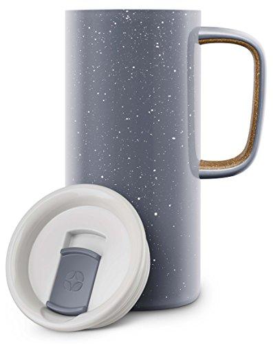 Ello 429-0293-040-6 Campy Steel Mug Grey 18 oz