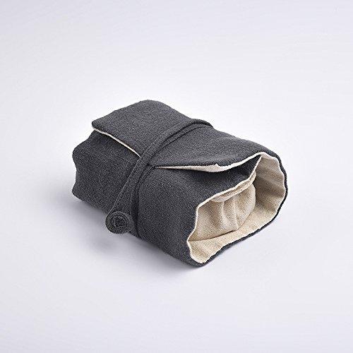 Handmade Chinese Kungfu Tea Portable Teacups Vintage Bag