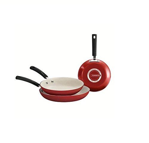 Tramontina Ceramic-Reinforced Nonstick Fry Pans Set of 3