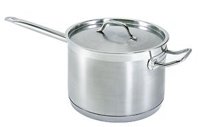 10 QT COMMERCIAL STAINLESS STEEL SAUCE PAN - NSF