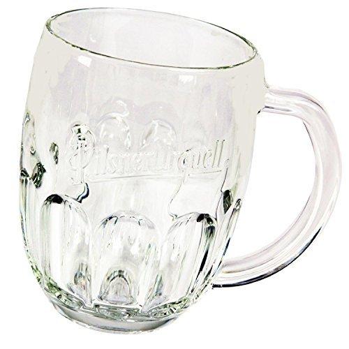 Pilsner Urquell Beer Mugs Set Of 2 Pieces Pint 05 Litre Lined
