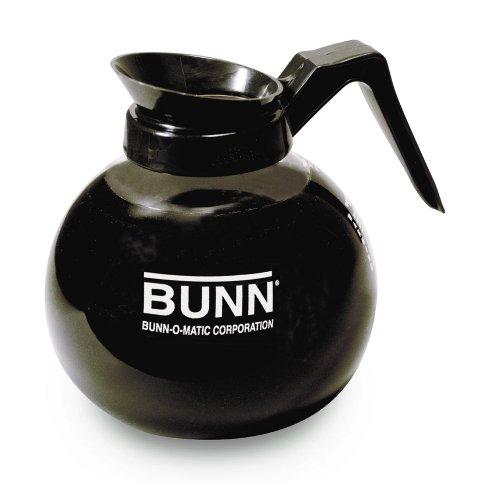 BUNN 64 Oz Black 12-Cup Coffee Decanter  Case of 3