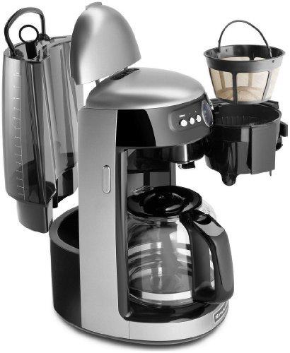 Kitchenaid Architect Series 14 Cup Glass Carafe Coffee Maker - Cocoa Silver