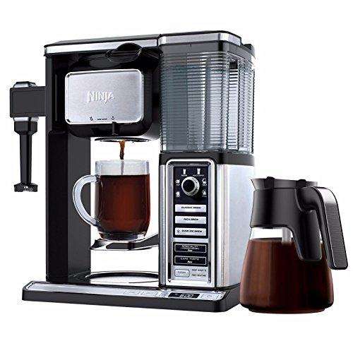 Ninja Auto-IQ Coffee Maker Brewer Bar with Glass Carafe System - CF092 Certified Refurbished