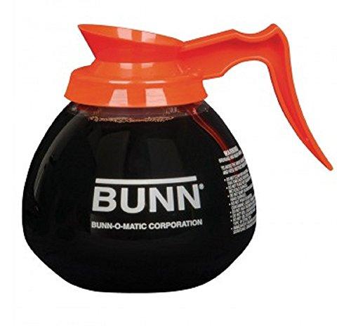 BUNN 12-Cup Glass Coffee Decanter Orange