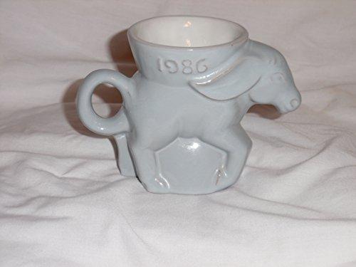 Frankoma 1986 Democrat Donkey Mug - Coffee Cup