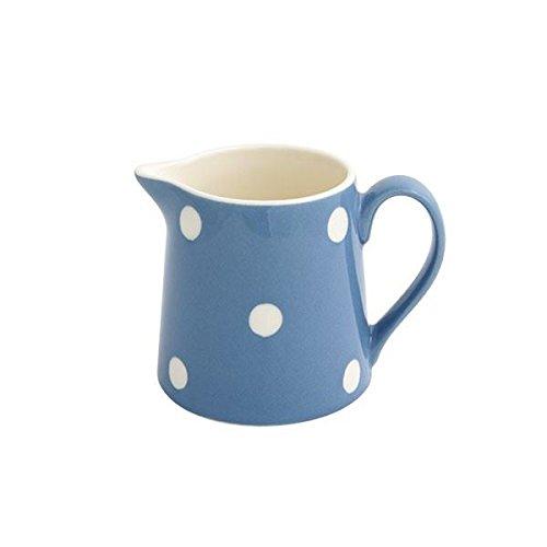 Fairmont and Main Earthenware Cream Jug Blue Spot