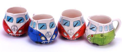 Volkswagen Merchandise - VW Camper Van  Bus - Ceramic Milk  Cream Jug  Dispenser