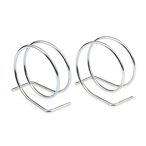 Stainless steel napkin holder loop shape Metal napkin holder Round Loop napkin holder Pack of 2
