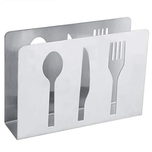 Table Decor Stainless Steel Napkin Holder Modern Serviette Holder Rack Table Decor Kitchen Parts Serviette Holder
