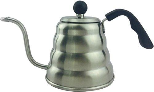 Drip coffeemakersStainless Steel Tea Coffee Milk Kettlelatte espresso cappucion maker 1200ML