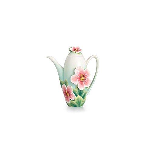 Franz Porcelain Geranium Garden Teapot FZ02371