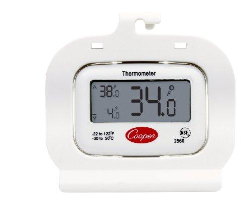 Cooper-Atkins 2560 Digital Freezer Thermometer Digital Refrigerator Thermometer Cold Storage Thermometer Digital Display Temperature Memory