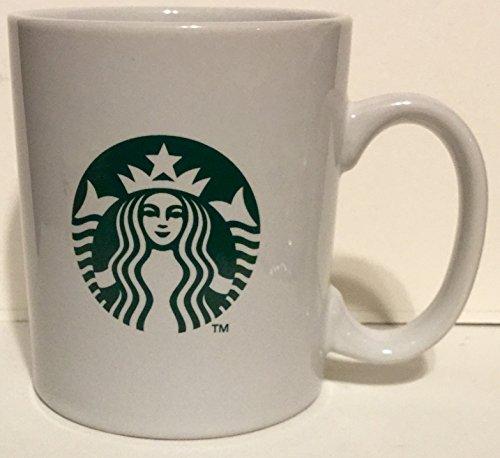 Starbucks Coffee Mug 14 oz 2013 Green off-white