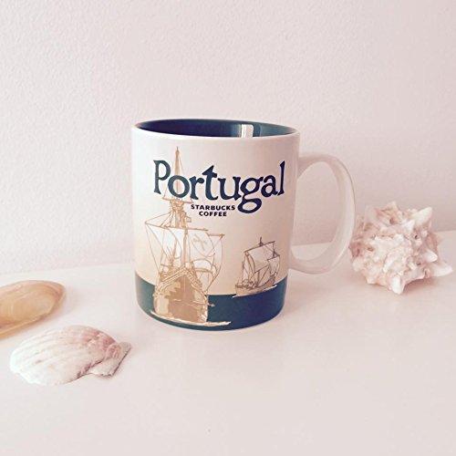 Starbucks Coffee Mug Portugal Ii Carrack 08 Icon Serie City Mu 16oz
