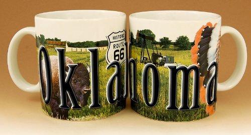 Oklahoma - ONE 18 oz Coffee Mug