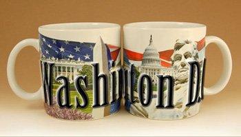 Washington DC District of Columbia - 18 oz Coffee Mug