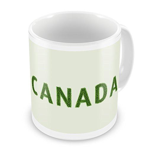 Coffee Mug Canada Soccer Field Grass - NEONBLOND