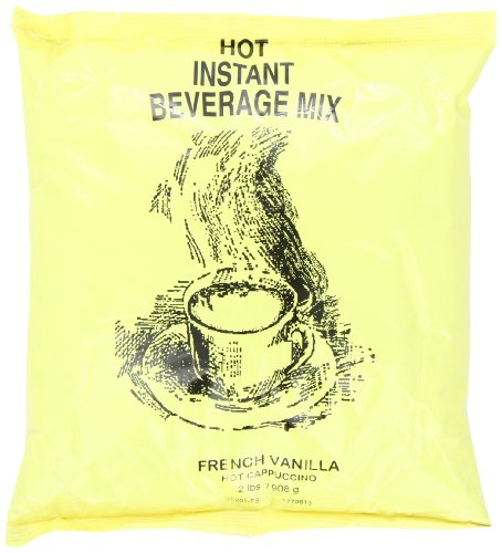 Victorian Inn Instant Cappuccino French Vanilla 2 Pound Pack of 6