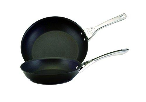 Circulon Infinite Skillet Omelet Pan Twin Pack 1012 Black
