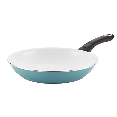 Farberware PURECOOK Ceramic Nonstick Cookware 10-Inch Skillet Aqua