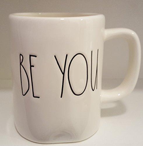 Rae Dunn BE YOU LL White Ceramic Mug