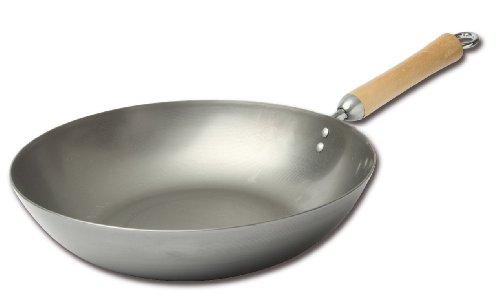 Joyce Chen 21-9979 Classic Series Carbon Steel Stir Fry Pan 12-Inch