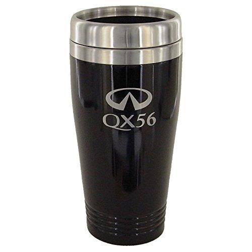Infiniti QX56 Black Travel Mug
