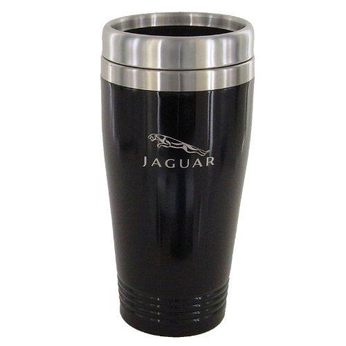 Jaguar Black Travel Mug