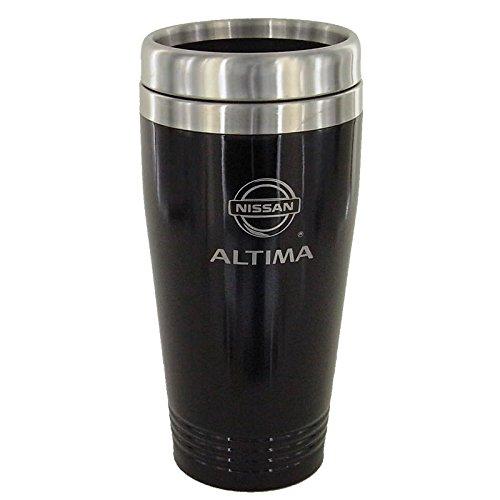 Nissan Atltima Black Travel Mug