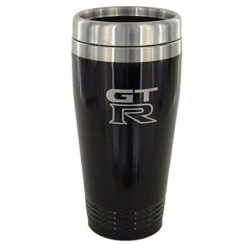 Nissan GT-R Black Travel Mug