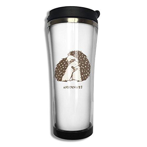 Cute Cartoon Hedgehog Hugs Stainless Steel Thermos Mug Vacuum Mug For Drinking