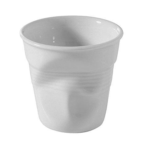 Revol Froisses Espresso Crumpled Tumbler 616096  White