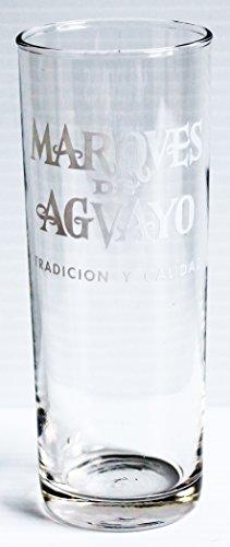 Marques de Aguayo Brandy 12oz Promotional Tumbler Glass
