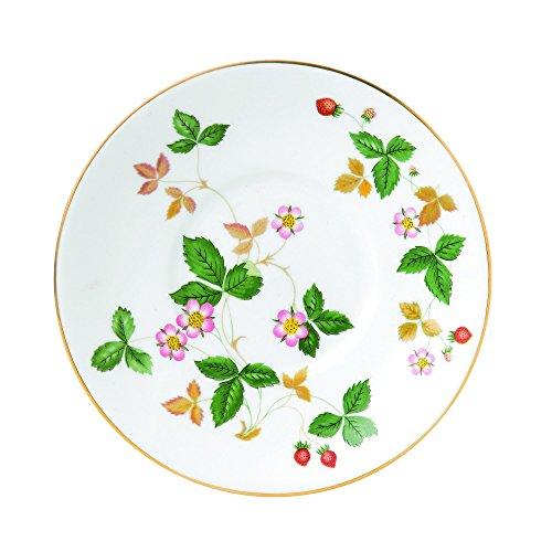 Wedgwood Wild Strawberry Tea Saucer White