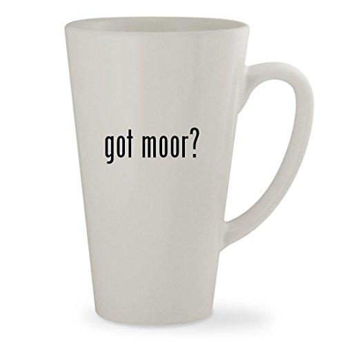 got moor - 17oz White Sturdy Ceramic Latte Cup Mug