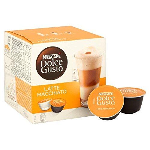 Nescafe Dolce Gusto Latte Macchiato Pods - 8 per pack 018lbs