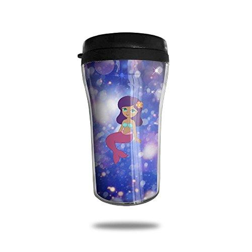Cute Cartoon Mermaid Clipart Simple Modern Coffee Cup Vacuum Insulated Vacuum Cup