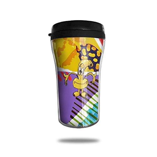 Funny Banana Human Cartoon Image Simple Modern Coffee Cup Vacuum Insulated Vacuum Cup
