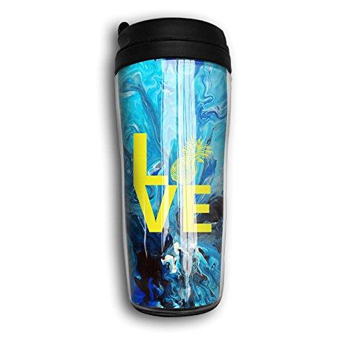 Love Pineapple Unisex Modern Coffee Cup
