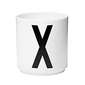 SODIALR white Children milk Letters Cup X757CM