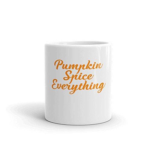SAYOMEN - Pumpkin Spice Everything Fun Fall Coffee or Tea Mug Pumpkin Spice Is My Favorite Season Autumn Mug MUG 15oz