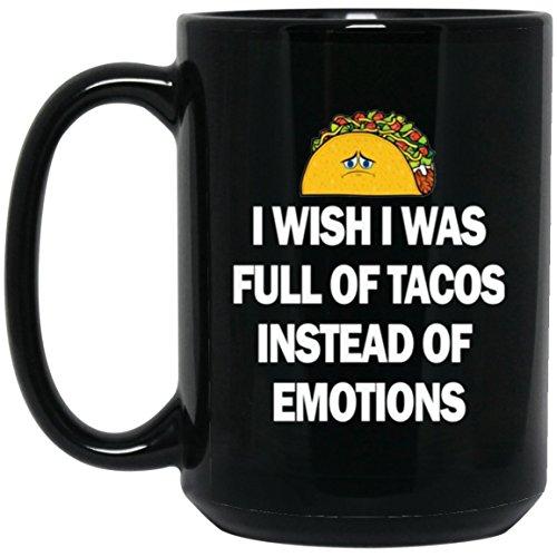 Funny Taco Mug For Women Taco T Mug Large Black Mug