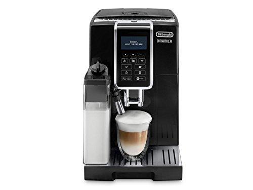 DeLonghi ECAM 35055B Dinamica Super Fully Automatic Espresso Machine Coffee Maker Black