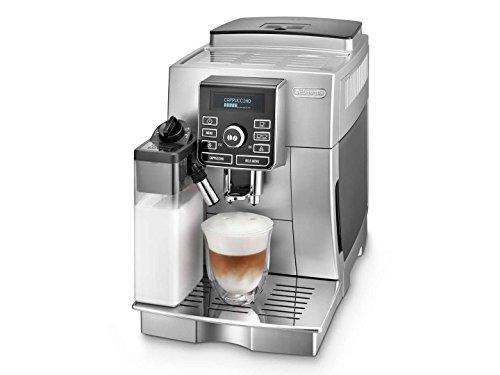 DeLonghi ECAM25462 Super Fully Automatic Espresso Machine with Cappuccino and Latte Crema System Silver