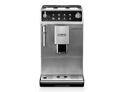 DeLonghi ETAM 29510SB Autentica Super Fully Automatic Espresso Machine Coffee Maker Silver Black