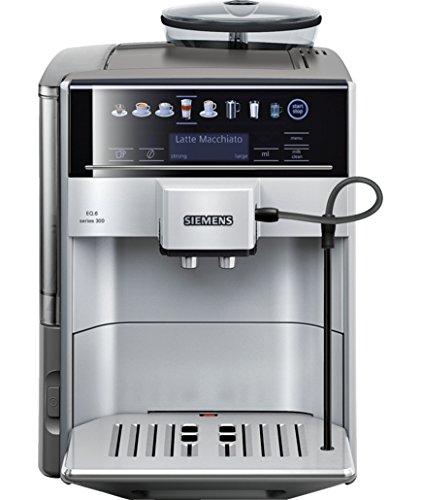 Siemens EQ6 TE603201RW Super Fully Automatic Espresso Machine Coffee Capuccino Latte Maker OneTouch DoubleCup System SIlver