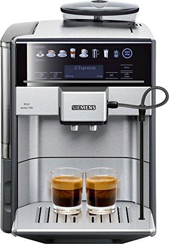 Siemens EQ6 TE607203RW Super Fully Automatic Espresso Machine Coffee Capuccino Latte Maker OneTouch DoubleCup System SIlver